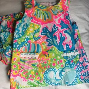 Infant Lilly Pulitzer Shift Dress 6-12 month